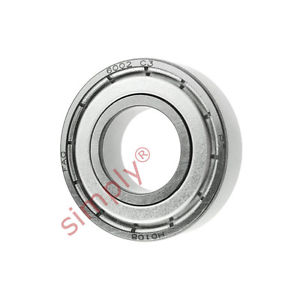 high temperature FAG 60022ZC3 Metal Shielded Deep Groove Ball Bearing 15x32x9mm