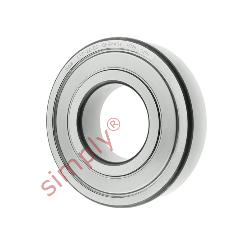 high temperature FAG 63102ZC3 Metal Shielded Deep Groove Ball Bearing 50x110x27mm