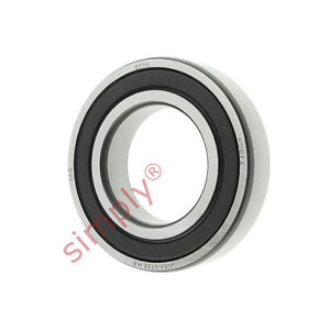 high temperature FAG 60062RSR Rubber Sealed Deep Groove Ball Bearing 30x55x13mm