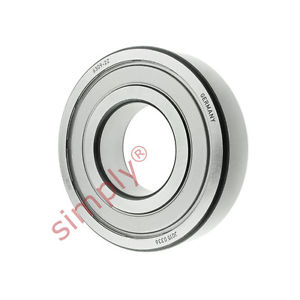 high temperature FAG 63092Z Metal Shielded Deep Groove Ball Bearing 45x100x25mm