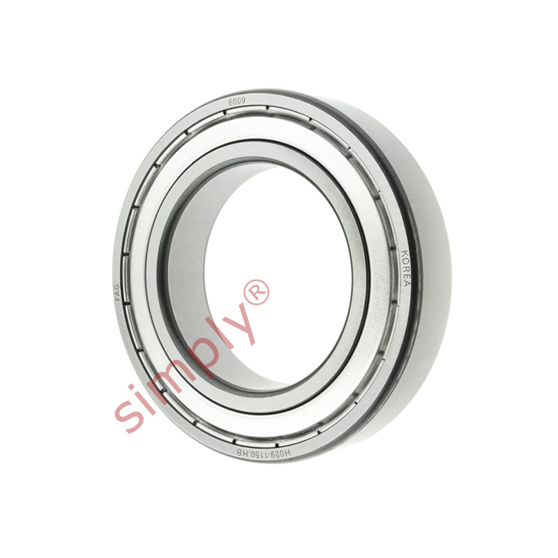 high temperature FAG 60092Z Metal Shielded Deep Groove Ball Bearing 45x75x16mm