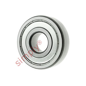high temperature FAG 161012Z Metal Shielded Deep Groove Ball Bearing 12x30x8mm