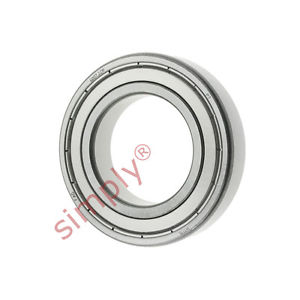 high temperature FAG 60072Z Metal Shielded Deep Groove Ball Bearing 35x62x14mm