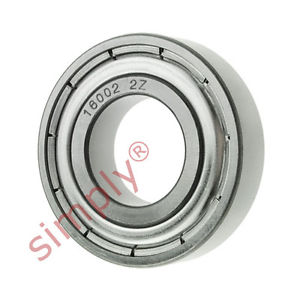 high temperature FAG 160022Z Metal Shielded Deep Groove Ball Bearing 15x32x8mm