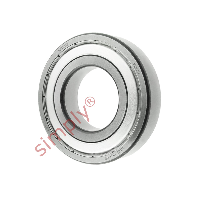 high temperature FAG 62072ZC3 Metal Shielded Deep Groove Ball Bearing 35x72x17mm