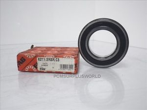 high temperature FAG 6211.2RSR.C3 Ball Bearing, 55mm ID, 100mm OD, 21mm W **