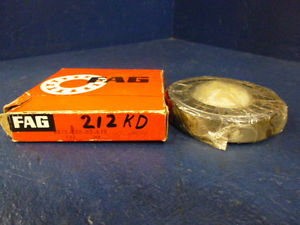 high temperature FAG 6212.ZR.C3.L12 Deep Groove Single Row One Side Shielded Ball Bearing