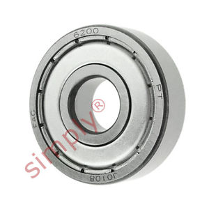 high temperature FAG 62002Z Metal Shielded Deep Groove Ball Bearing 10x30x9mm