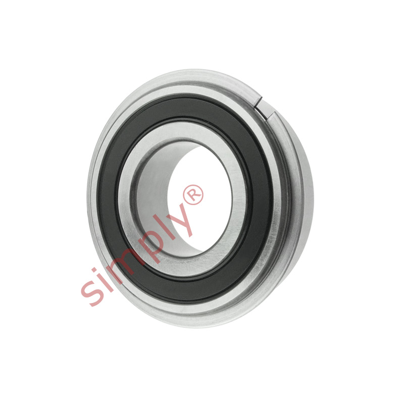 high temperature Major Branded 63042RSRNR Sealed Snapring Deep Groove Ball Bearing 20x52x15mm