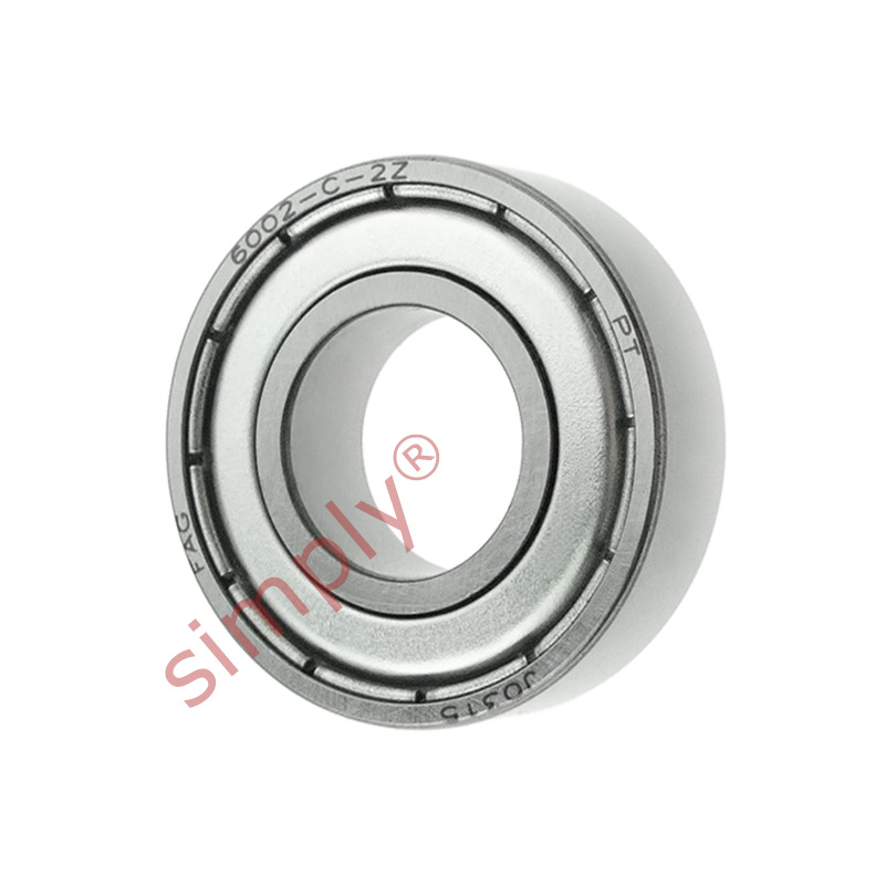 high temperature FAG 60022Z Metal Shielded Deep Groove Ball Bearing 15x32x9mm