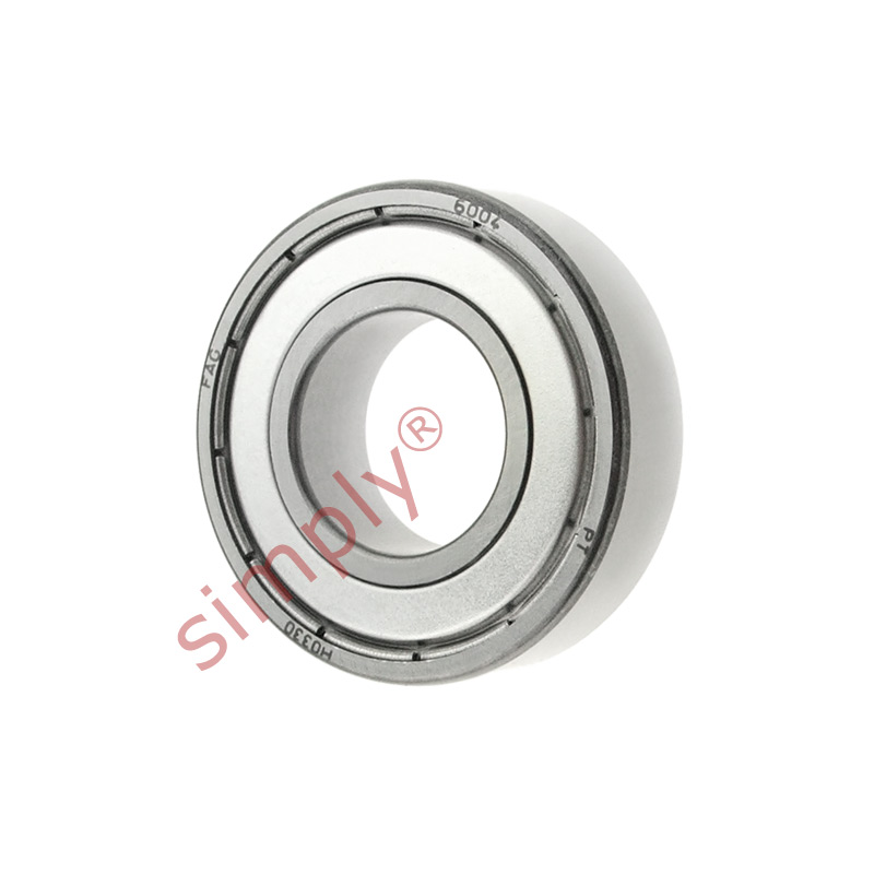 high temperature FAG 60042Z Metal Shielded Deep Groove Ball Bearing 20x42x12mm