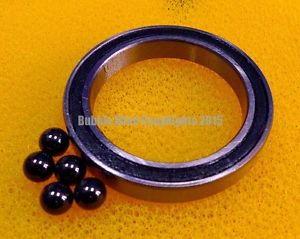 high temperature 2 PCS S6008-2RS (40x68x15 mm) Stainless Steel Hybrid Ceramic Bearings 40*68*15