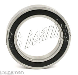 high temperature Sealed Ball Bearings 61902-RS 15mm Stainless Bearing