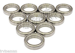 high temperature 10 Bearing 6800 Z 10 x 19 x 5 mm Stainless Metric VXB