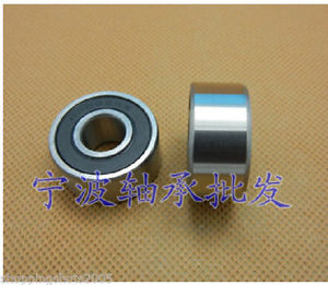 high temperature 2 pcs 62205 RS Deep Groove Ball Bearing 25x52x18 25*52*18 mm bearings 62205RS