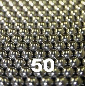 """high temperature 50 5/16"""" Inch G25 Precision 420 Stainless Steel Bearing Balls"""
