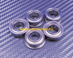 high temperature [QTY10] SF63800zz F63800zz (10x19x7 mm) 440c Stainless Steel FLANGE Ball Bearing