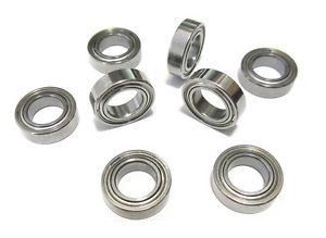 high temperature 10 Minebea NMB DDR-1350ZZ 5x13x4mm Stainless Steel Shielded Ball Bearings