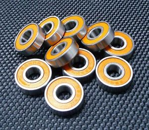 high temperature ABEC-7 [2 PCS] S686-2RS (6x13x5 mm) 440c Stainless Steel CERAMIC Ball Bearing