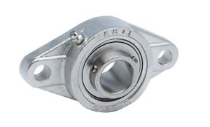 "high temperature KML 7/8"" SSUCFL205-14 Stainless Steel Bearing"