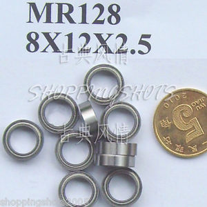 high temperature 1pc) MR128 MR128Z Miniature Bearings ball Mini bearing 8X12X2.5 8*12*2.5 MR128zz