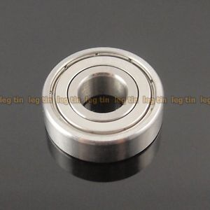 high temperature [5pcs] S6000zz 10x26x8 mm S6000 Stainless Steel 440c Ball Bearing Bearings