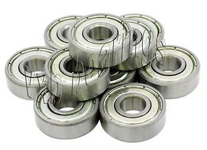 high temperature 10 Ceramic Ball Bearing S693ZZ 3x8x4 Stainless Steel Miniature 3mm x 8mm Quality
