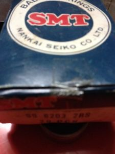 high temperature 10- SMT SS 6203 2RS Deep Groove Ball Bearing – stainless