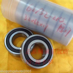 high temperature (2) 62/32-RS Deep Groove Ball Bearing Non standard 32x65x17 62/32RS 32*65*17