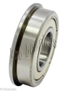 high temperature F6903ZZ Flanged Bearing Shielded Stainless Steel 17x30x7 Ball Bearings