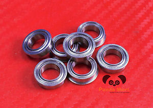 high temperature [4PCS] SF697zz (7x17x5 mm) Stainless Flanged Ball Bearing Bearings F697zz 7*17*5