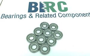 high temperature (QTY10) SR8 ZZ C3 Fit Precision Ball Bearing stainless shielded