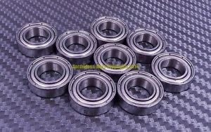 high temperature [QTY 10] S6803zz 6803zz (17x26x5 mm) 440C Stainless Steel Ball Bearing Bearings