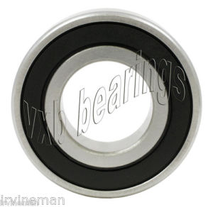 high temperature S6006-2RS Bearing 30mm x 55mm Stainless Steel 6006RS
