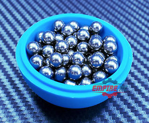 "high temperature (100 PCS) (9mm 0.3543"") 201 Stainless Steel Loose Bearing Balls G100 Bearings"