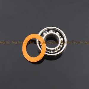 high temperature [10 pcs] SMR105c 5x10x3 mm Hybrid Stainless Steel Ceramic Ball Bearing (ABEC 7)