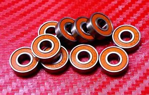high temperature [QTY 2] S687-2RS (7x14x5 mm) CERAMIC 440c Stainless Steel Ball Bearing 687RS