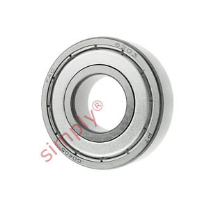 high temperature FAG 62032Z Metal Shielded Deep Groove Ball Bearing 17x40x12mm
