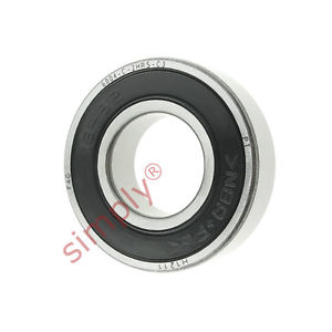 high temperature FAG 60042RSRC3 Rubber Sealed Deep Groove Ball Bearing 20x42x12mm