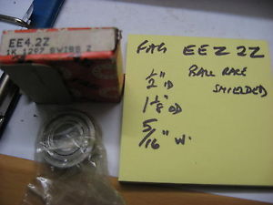 """high temperature FAG EE4 2Z shielded ball race  bearing 1/2"""" x 1 1/8"""" x 5/16"""" wide."""