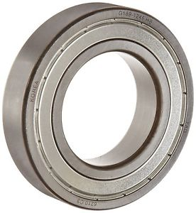 high temperature  FAG 40mm-ID 80mm-OD 18mm-Width 8500rpm Deep Groove Steel Cage Ball Bearing