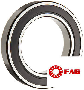 high temperature Genuine FAG Top Quality 6008.2RSR Deep groove ball bearing with two rubber seals