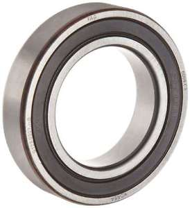 high temperature FAG 6005-2RSR-C3 Deep Groove Ball Bearing, Single Row, Double Sealed, Steel Cage