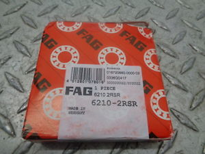 high temperature FAG 6210.2RSR DEEP GROOVE BALL BEARINGS – FACTORY SEALED