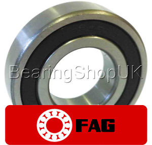 high temperature 6201-2RSR – FAG Metric Ball Bearing