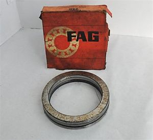 "high temperature FAG 5 1/2"" DIAMETER GROOVED RACE THRUST BALL BEARING, 51128 P5"