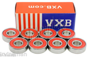 high temperature 8 Scooter Bearings Ceramic Sealed Ball Bearings