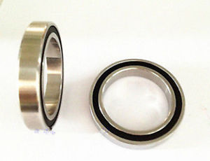 high temperature 6803-2RS Stainless Steel Full sealed Hybrid Ceramic Bearing si3n4 Ball 17*26*5mm