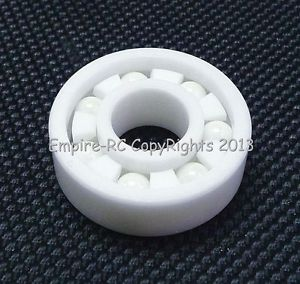 high temperature (2 PCS) MR115 (5x11x4 mm) Full Ceramic Zirconia Oxide Ball Bearing (ZrO2) 5*11*4