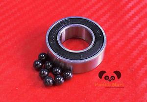 high temperature 10pc 16001-2RS (12x28x7 mm) Hybrid CERAMIC Ball Bearing Bearings 16001RS 12*28*7